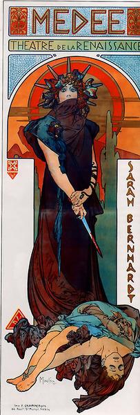 Alfons Mucha - Medea