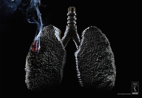 pubblicità contro il tabacco