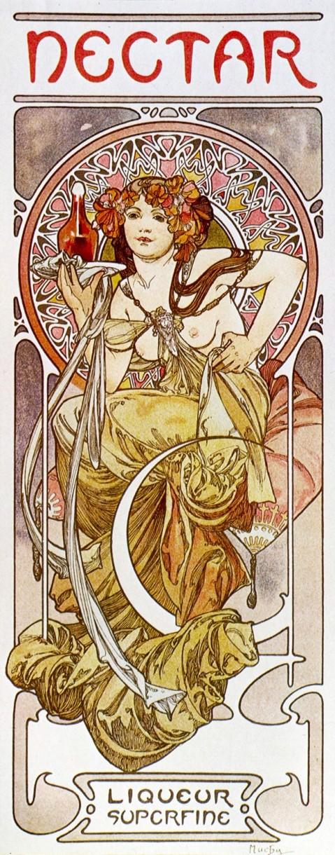Alfons Mucha - Nectar