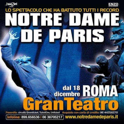 NOTRE DAMES DE PARIS MUSICAL