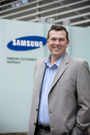 Samsung chief marketing officer Arno Lenior
