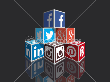 Social media — Stock Vector © dadartdesign #39565311