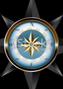 Marine Compass - vectorial stock vector art 30842132 - iStock