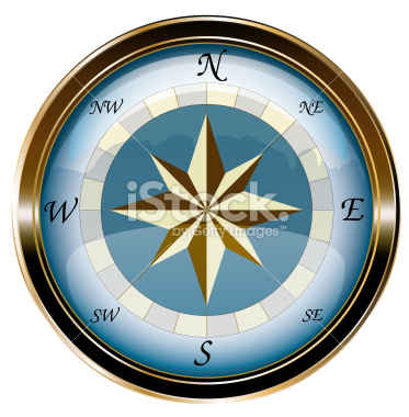 isolated vectorial marine compass stock vector art 31595728 - iStock