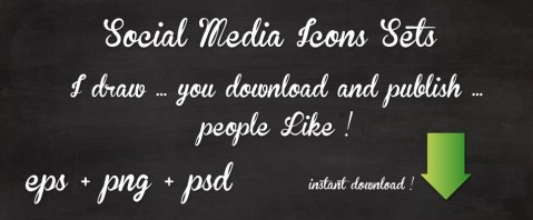 Social media icons store